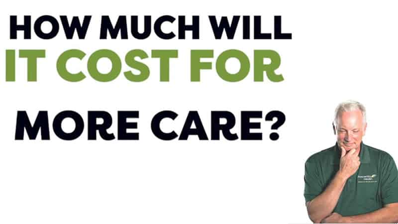 How Much Will It Cost for More Care?