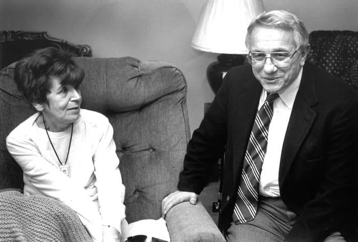 Senator Lombardi with patient