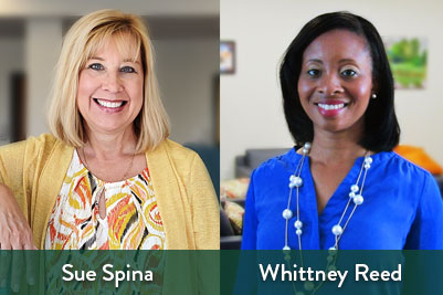 Sue Spina and Whittney Reed Join Nascentia Health